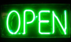 OPEN!!!!
